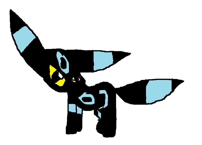 shiny umbreon(for fatal) by nikki001997