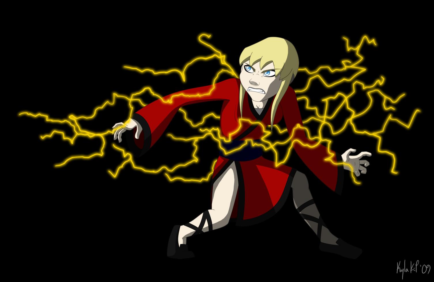 Gogo Shaye Lightning by northstar2x
