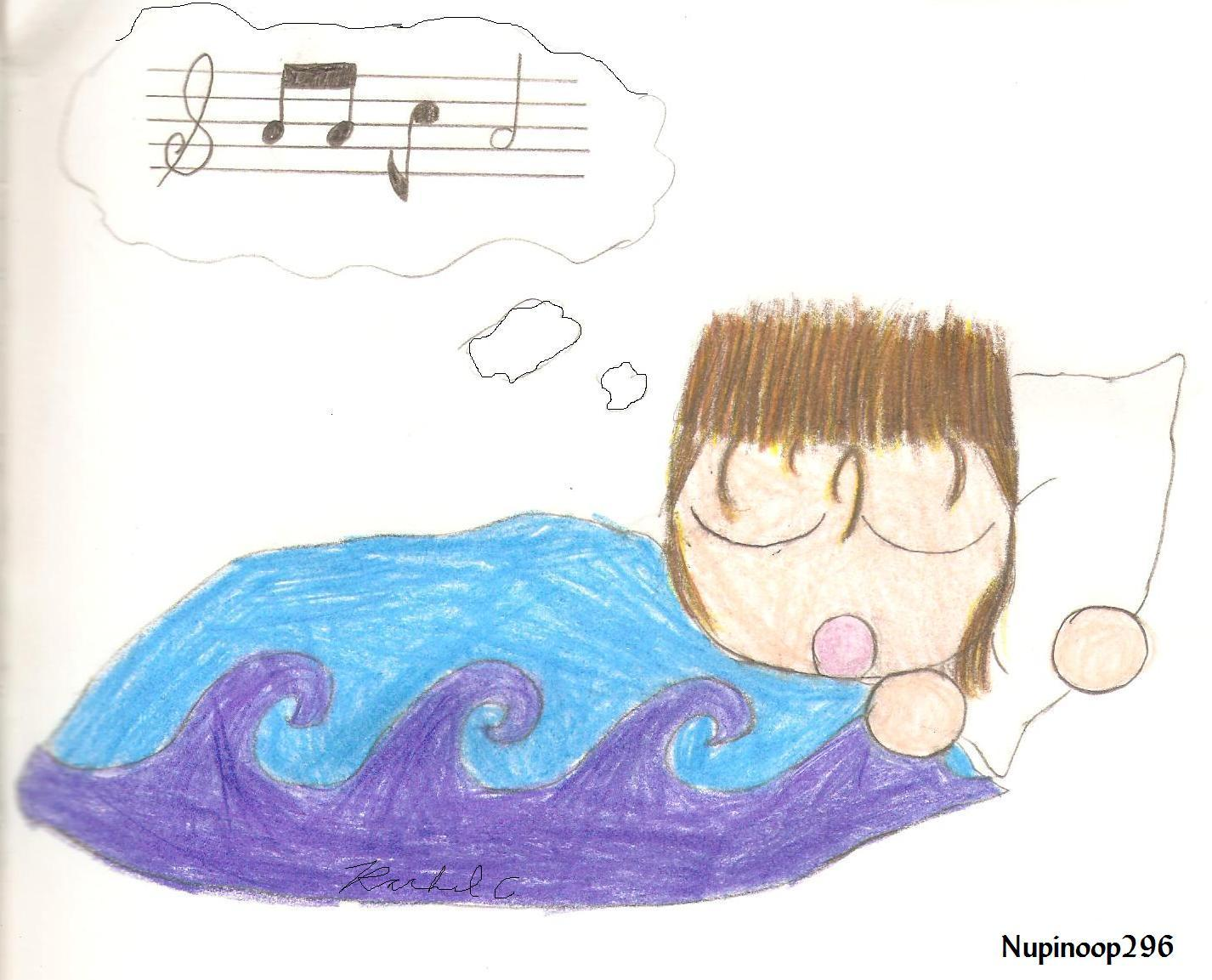Sleeping Trio 1: Demyx by nupinoop296