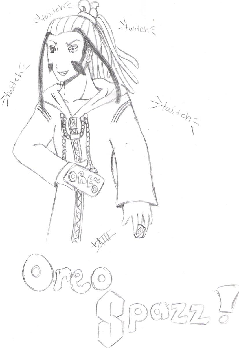 Oreo Spazz! by Oniku