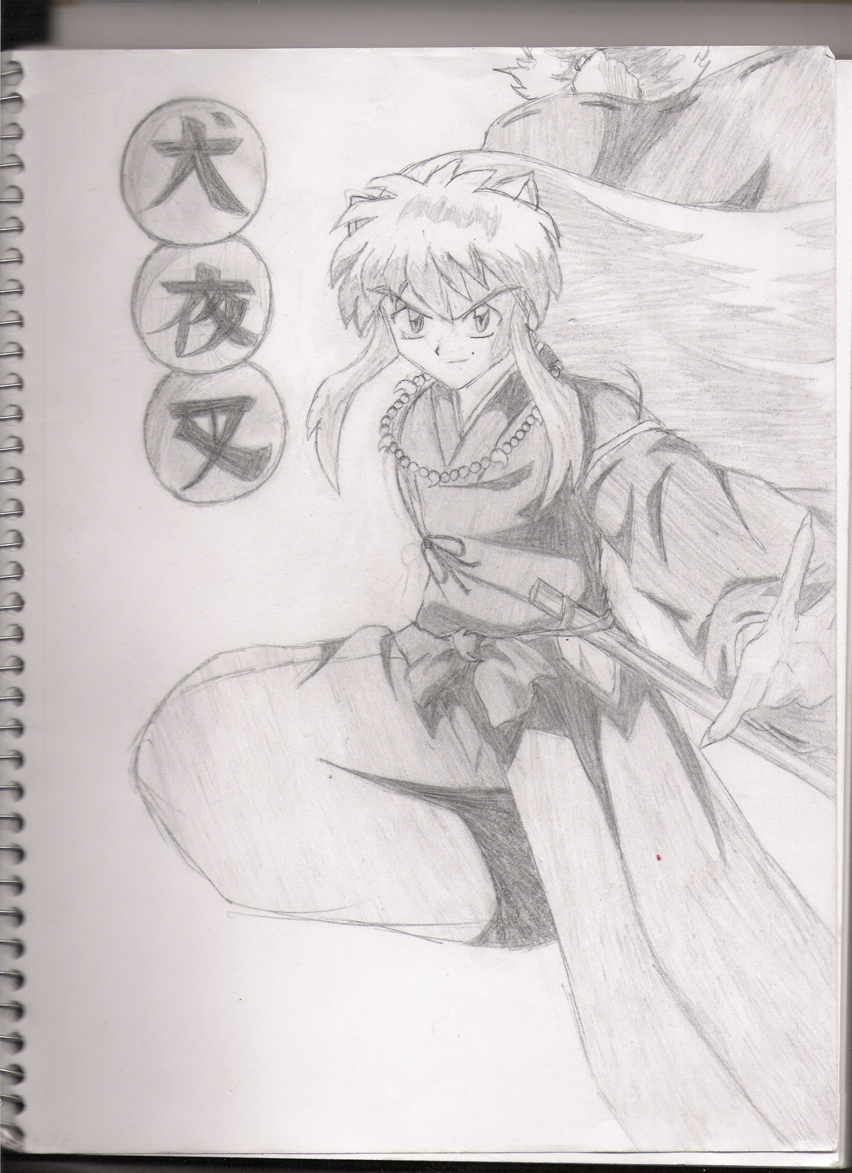 Inu-Yasha by Opalescent_Flame