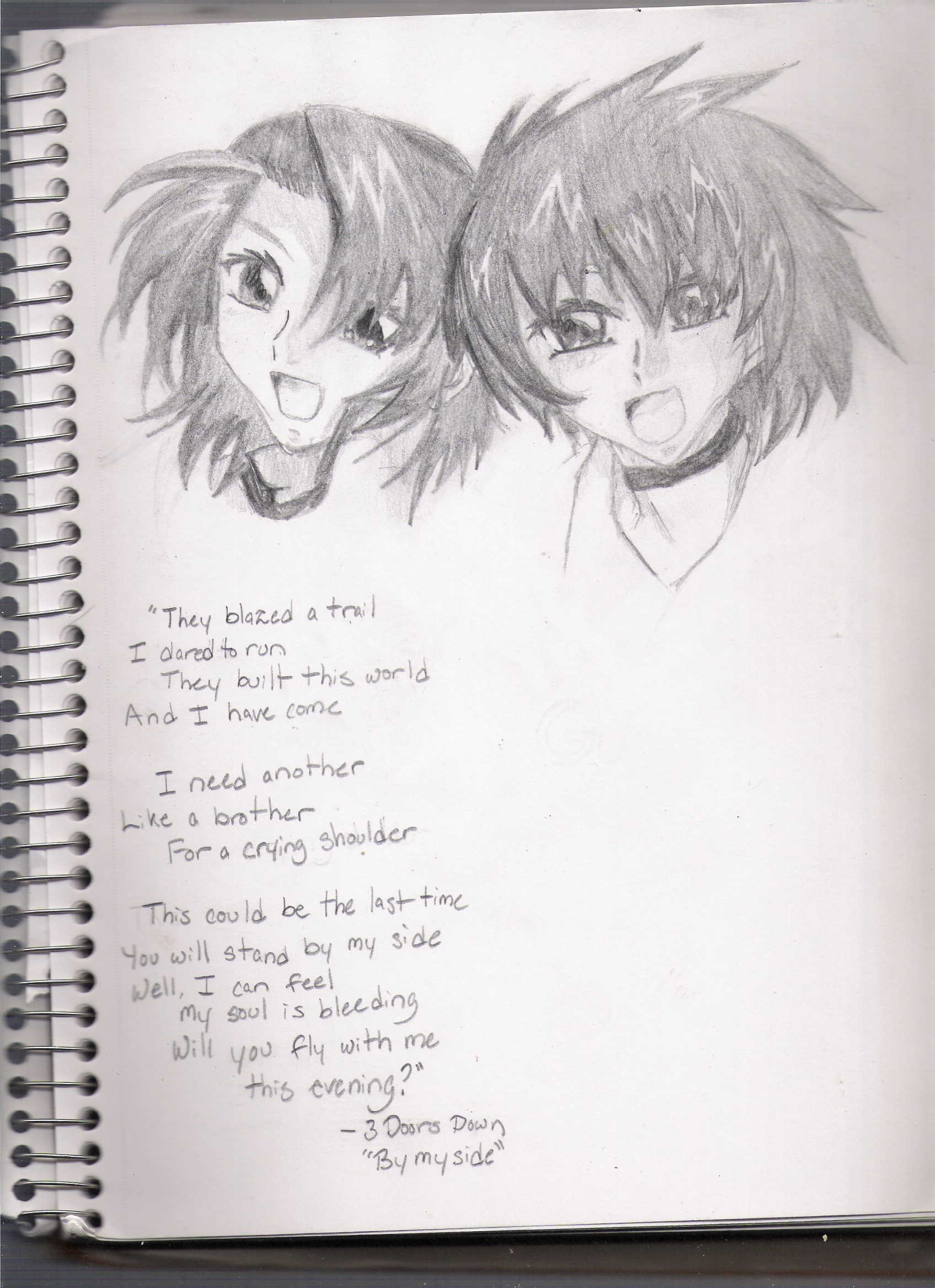 """Like a Brother"""" by Opalescent_Flame"""