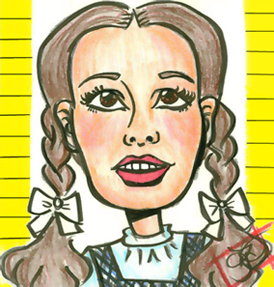 Dorothy -- Caricature by OrangeArt
