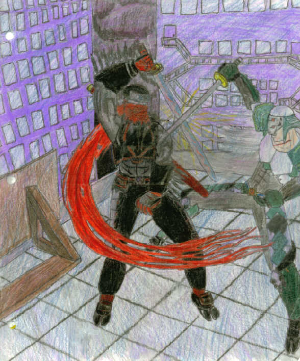 Shinobi vs Aomizuchi by Orchira_Drummer_Ryan