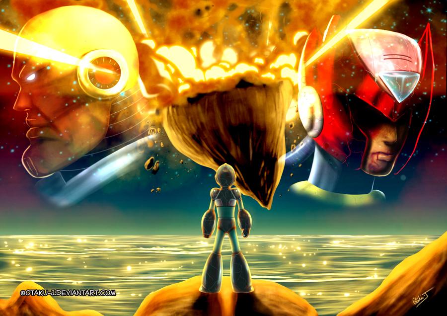 Megaman X Tribute by Otaku-J