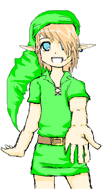 Link! ;]♥ by OverDramaticHeart