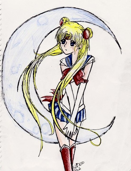 Sailor Moon ^^ by OverDramaticHeart