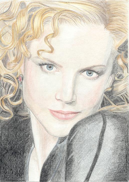 Nicole Kidman by olgi