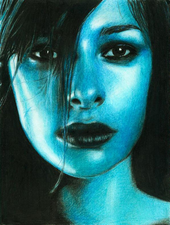 light blue by olgi