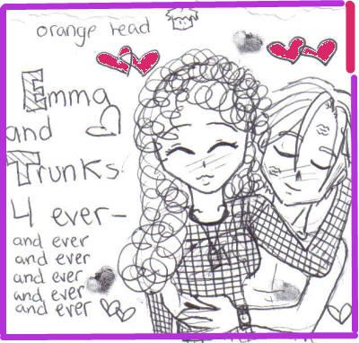 For Trunks_Lover* by orange_head