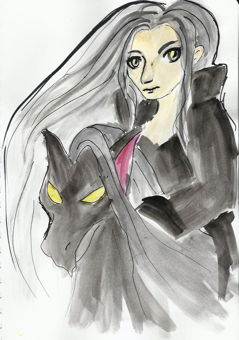 Sephiroth and  Erebus by orianajones