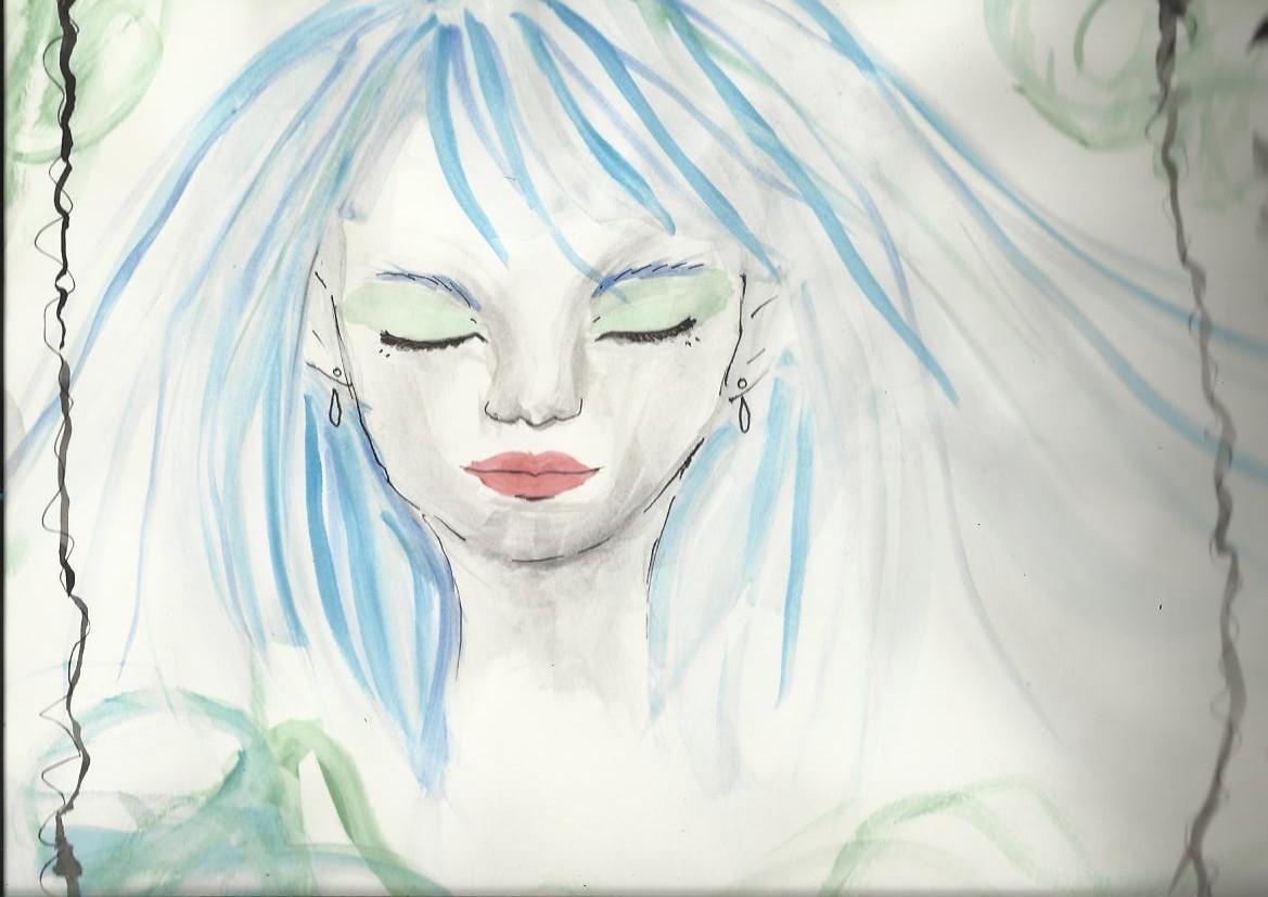 Blue by orianajones