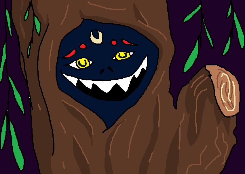 Guy in the tree by orianajones