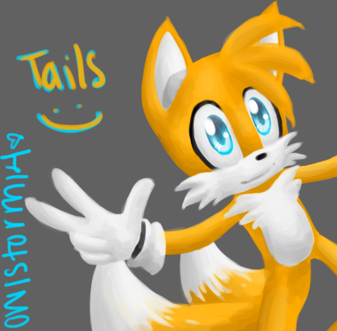 Tails ^.^ by owlstorm13