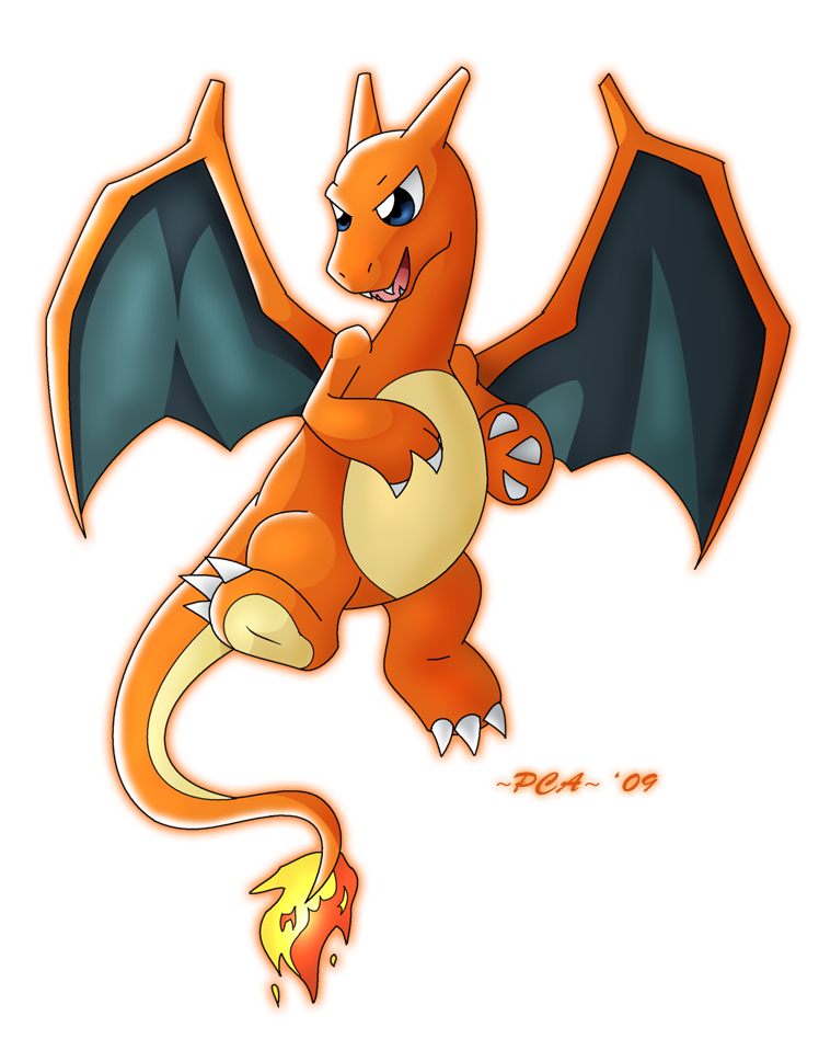 Charizard 006 by PCAPokemon98
