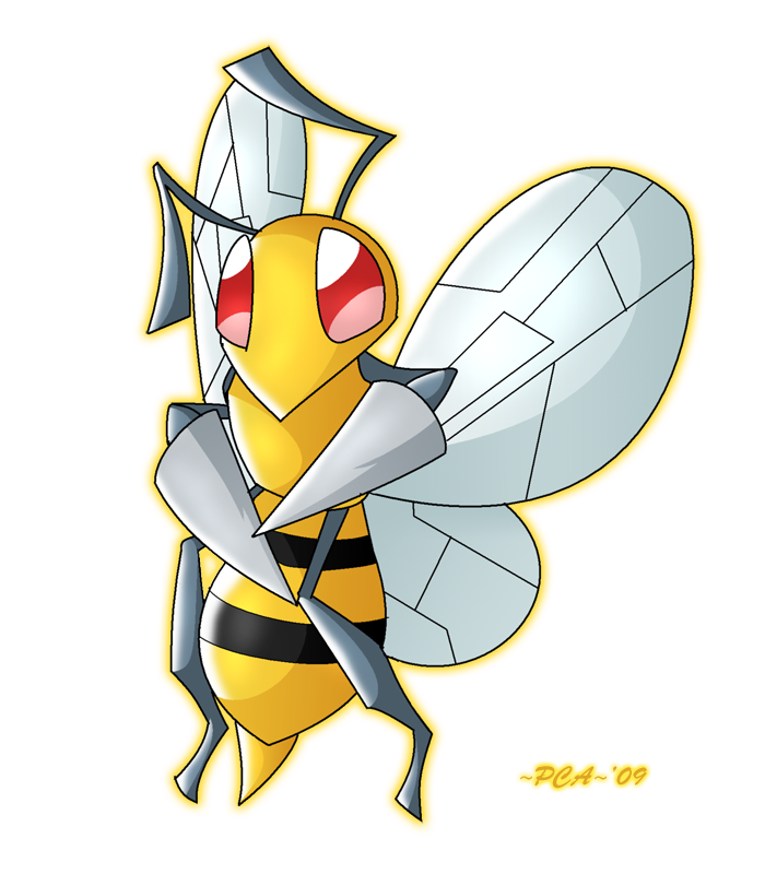 Beedrill - 015 by PCAPokemon98
