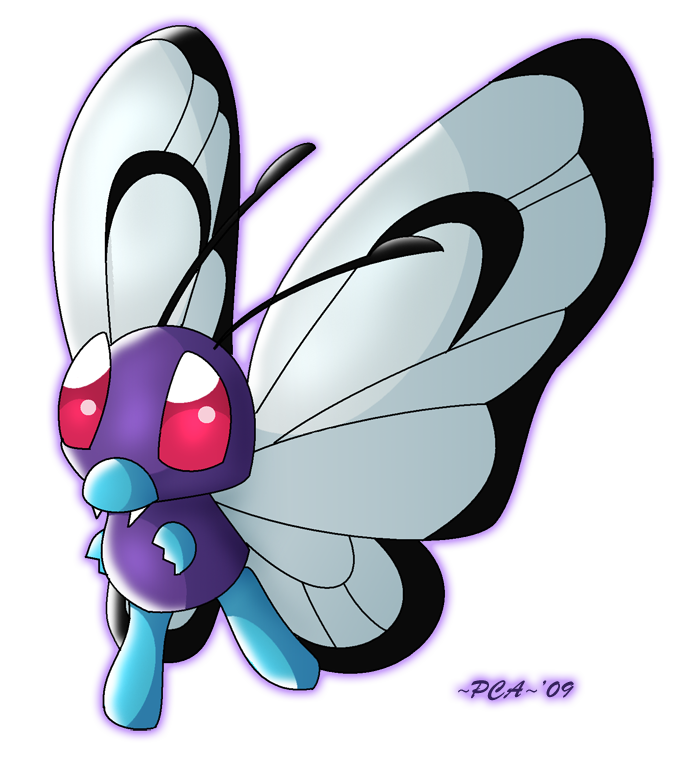 Butterfree 012 by PCAPokemon98