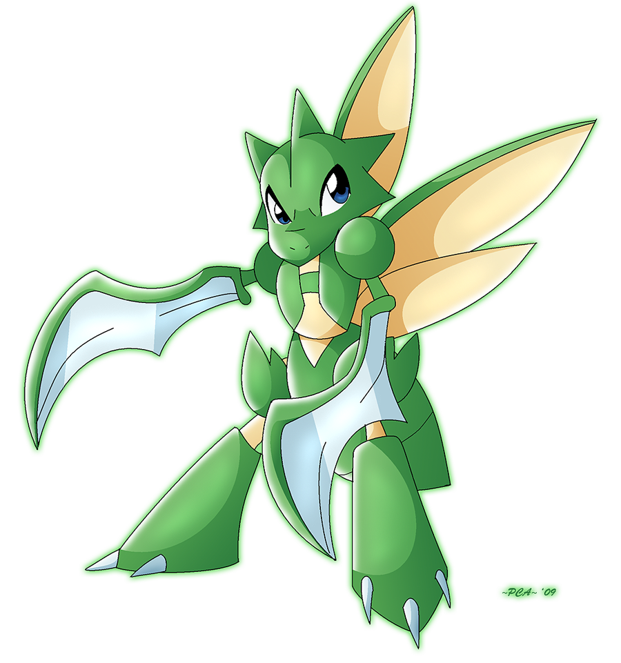 Scyther 123 by PCAPokemon98