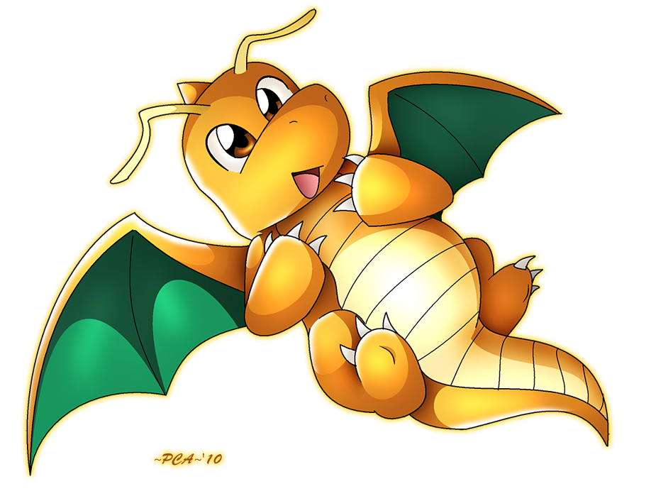 Dragonite 149 by PCAPokemon98