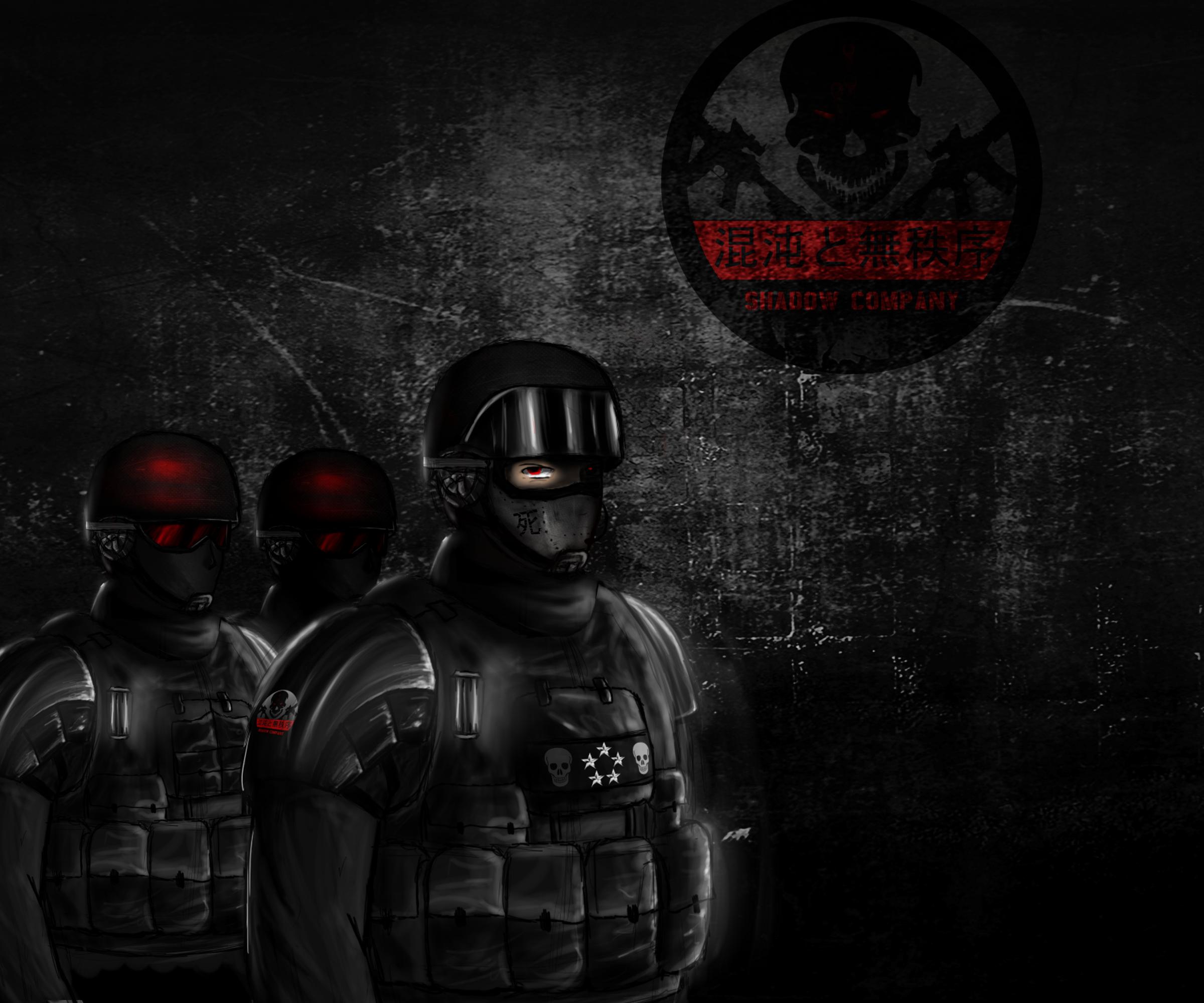 Shadow Company - The Mercenaries by PCgamer238