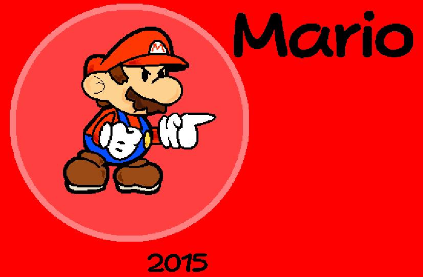 Paper Mario by PaperSonicDoor