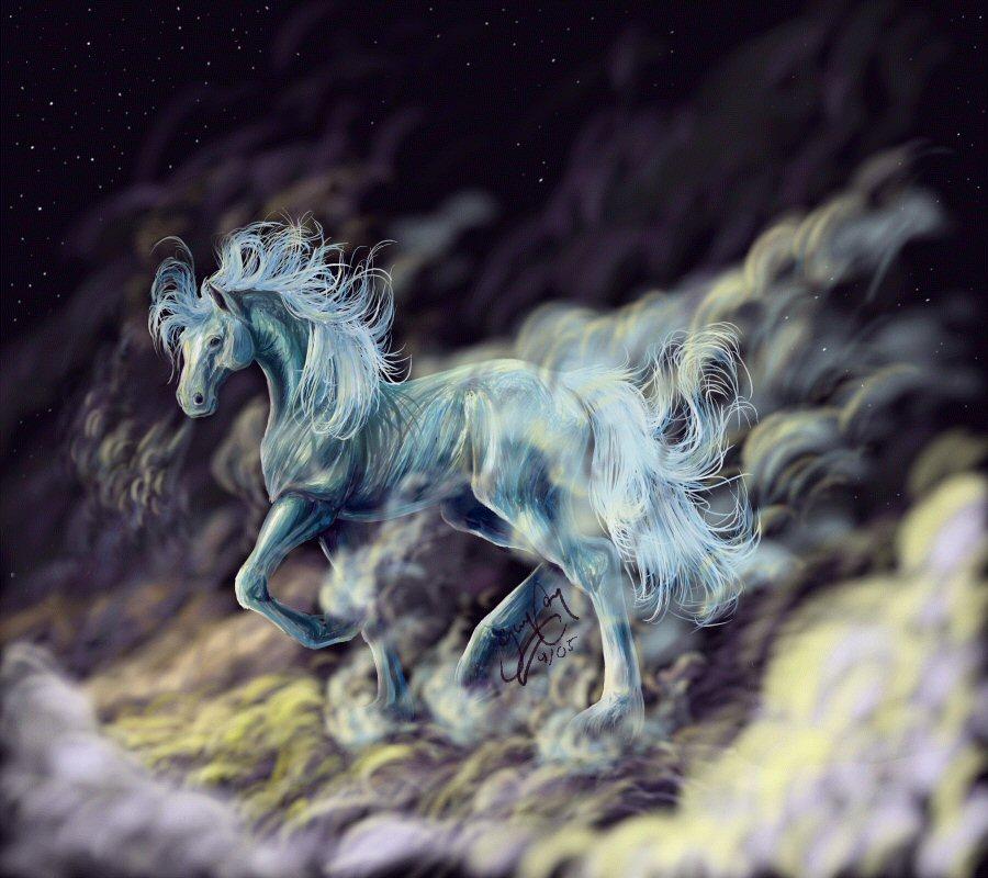 El Caballo del Cielo by Papercut_Dragon