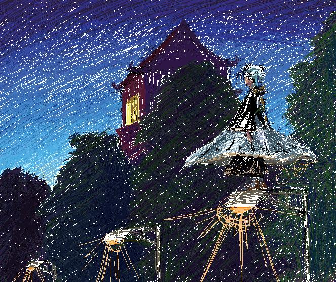 Lamplight by Papercut_Dragon