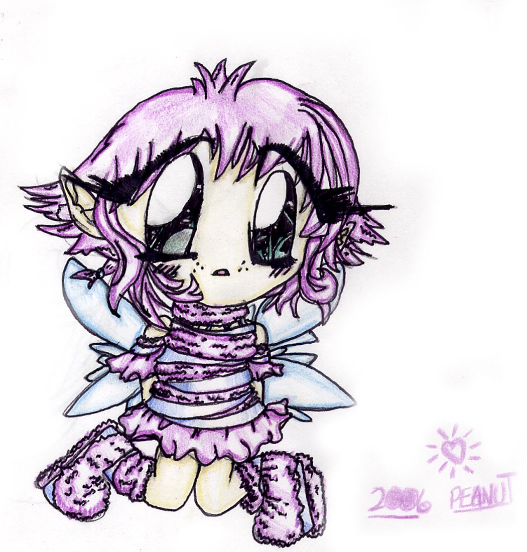 Chibi Fairy by Peanut