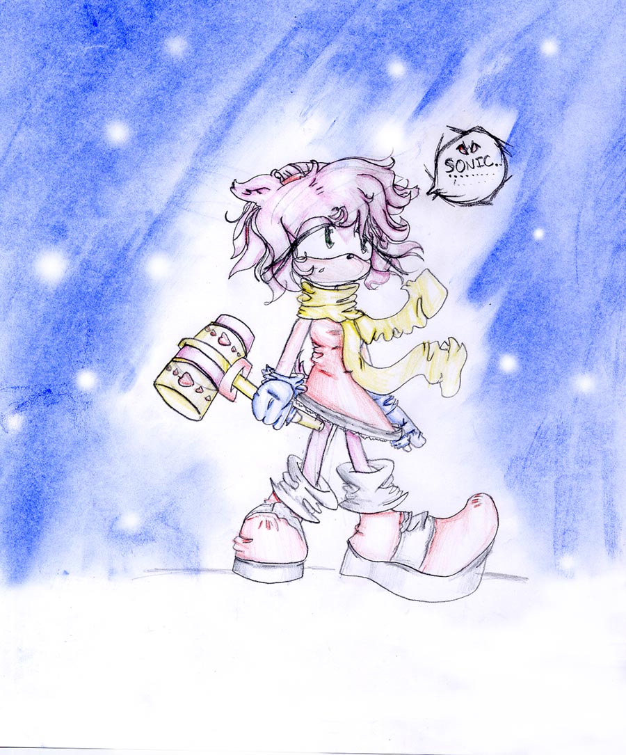 Amy in the Snow by Peanut