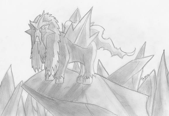 Entei by Pegasus