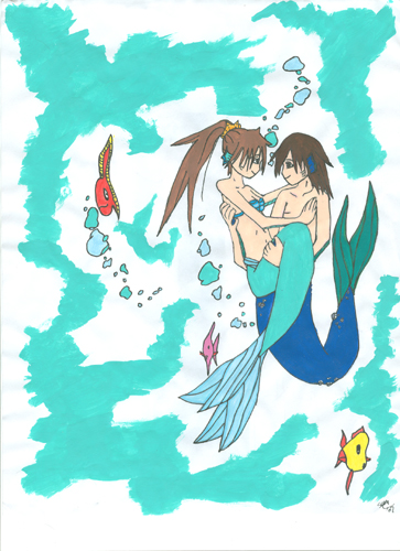 Mermaids in an ocean of emotion by PerniciousS