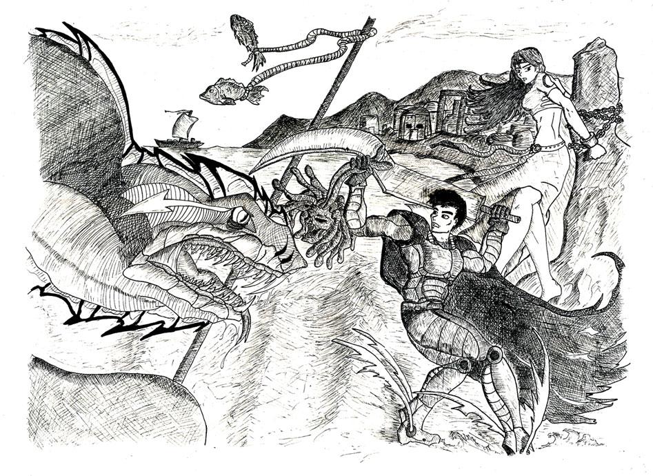 Rescue of Andromeda by Philcom