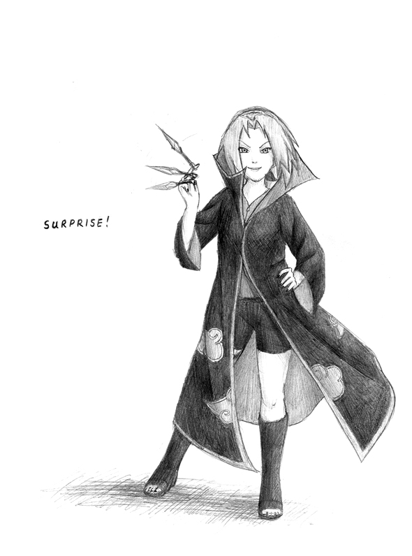 Akatsuki Sakura -sketch- by PhoenixBird
