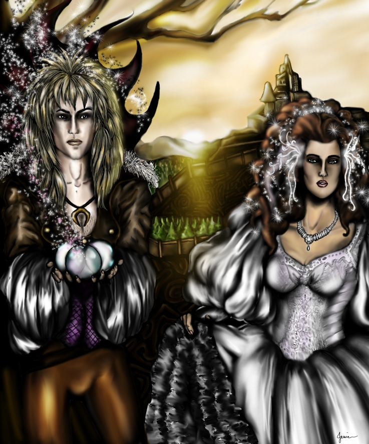 Jareth and Sara by PistolPolly