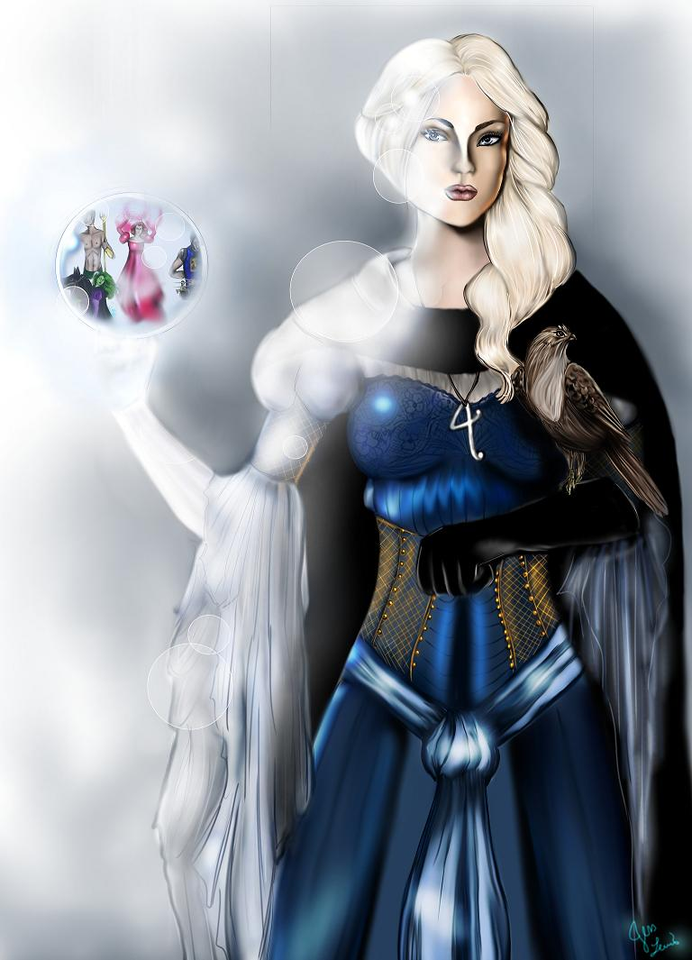 Invisible Woman medieval by PistolPolly