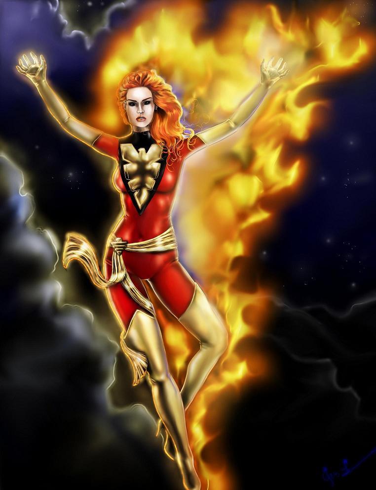 Dark Phoenix by PistolPolly