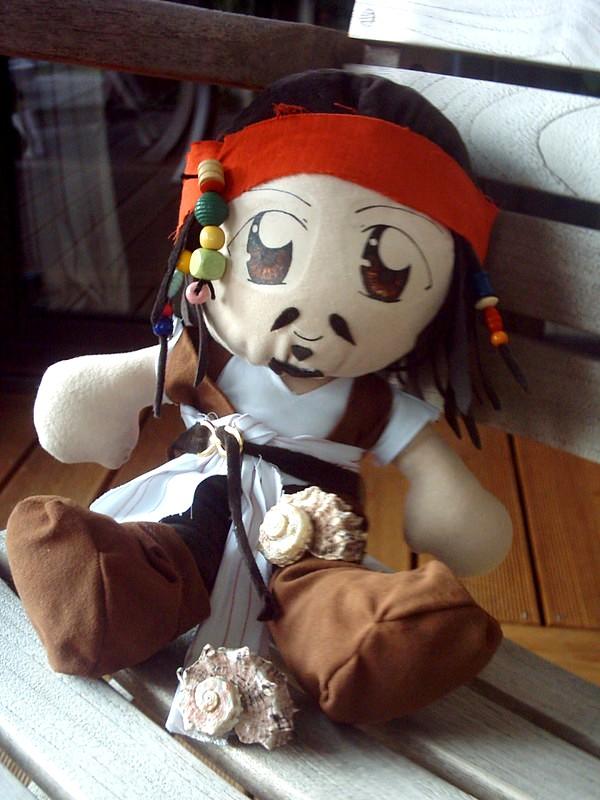 Captain Jack Sparrow Plushie by Plushbox