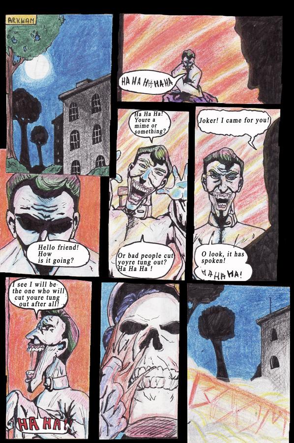 Joker in Arkham by Pomba