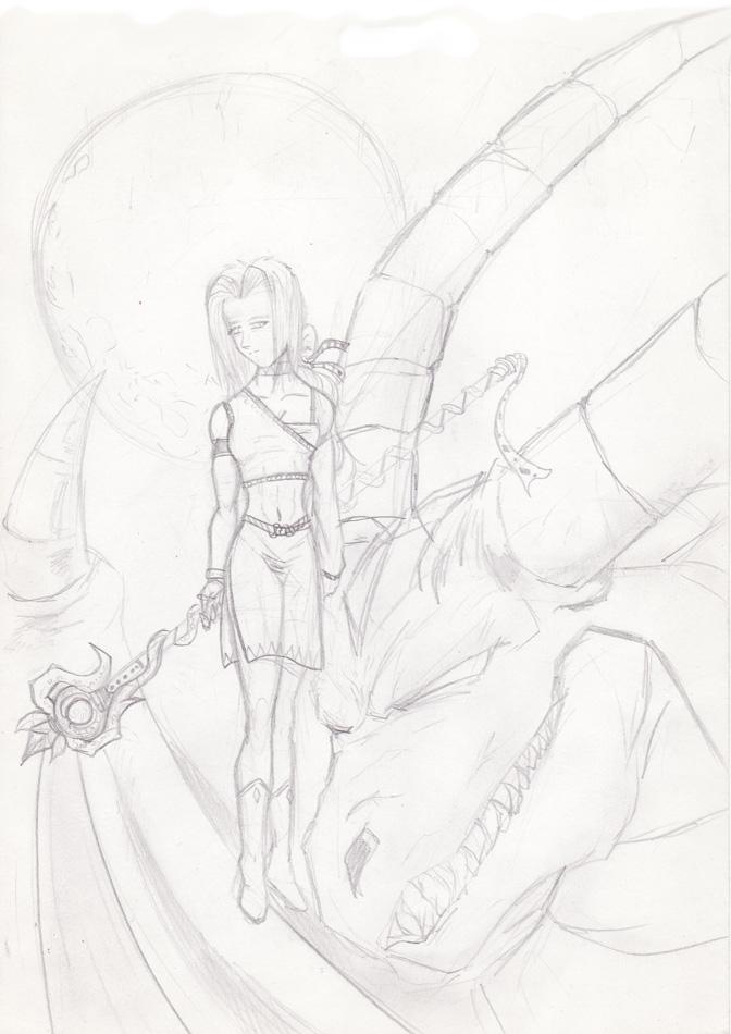 My Fantasy character 1 by Pomba