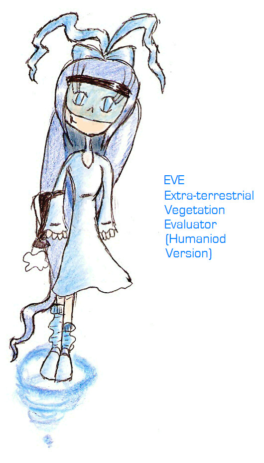 EVE - or simply Eve - Humaniod Version by Ponella