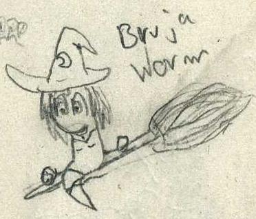 WitchWorm by Porroro