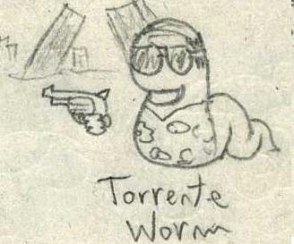 Torrente Worm by Porroro