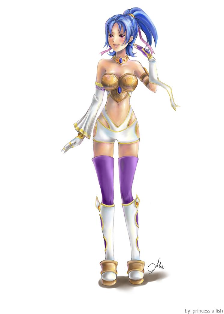 Ailish from Sudeki by Princess-Ailish