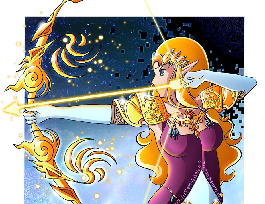 Zelda - Princess of Hyrule by Psyconorika