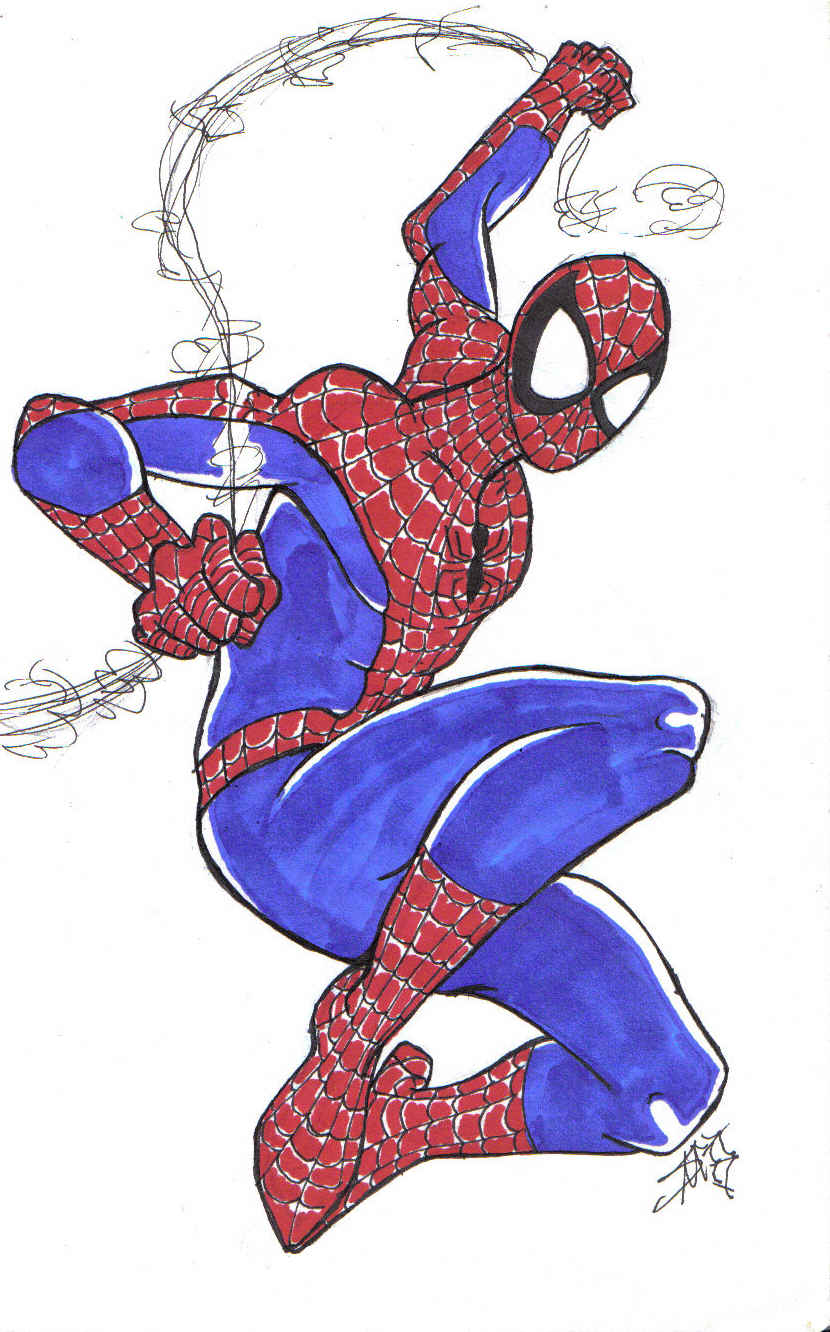 le spiderman by PuNkPoP