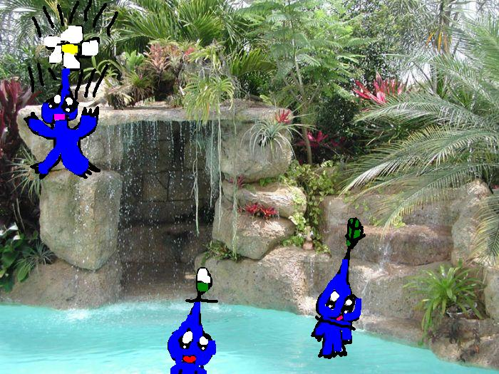 Blue pikmin by Puppygirl9