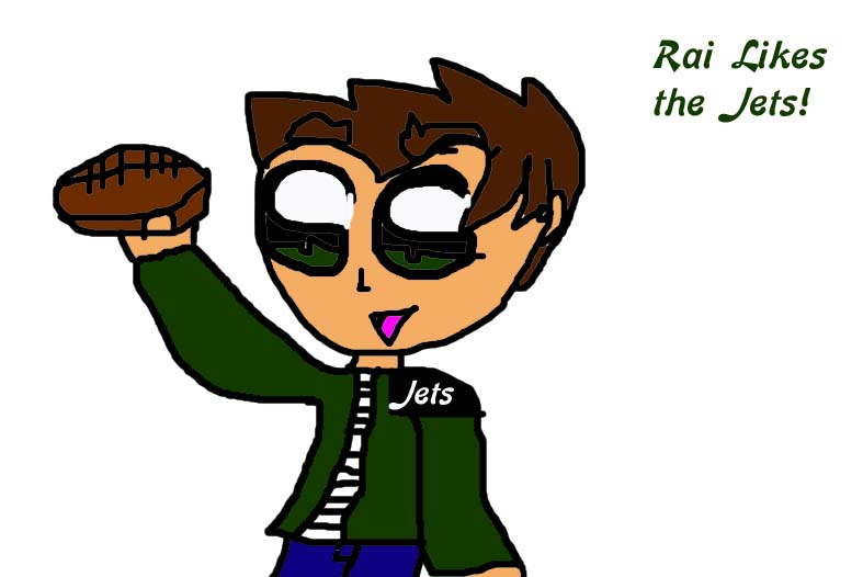 Rai likes da jets! by Puppygirl9