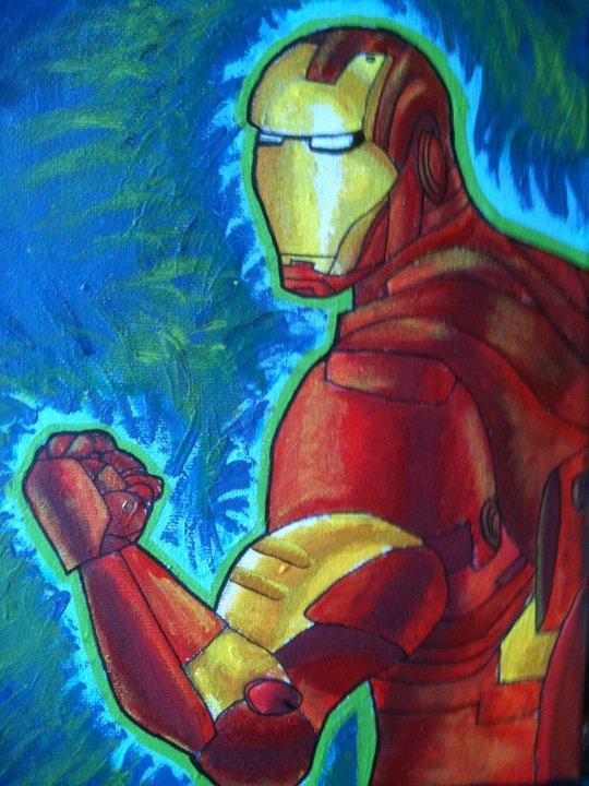 Iron Man by PurplePeach87
