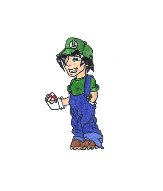Luigi by PyR0ManiAchic