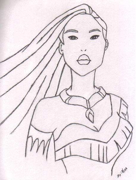Pocahontas by PyR0ManiAchic